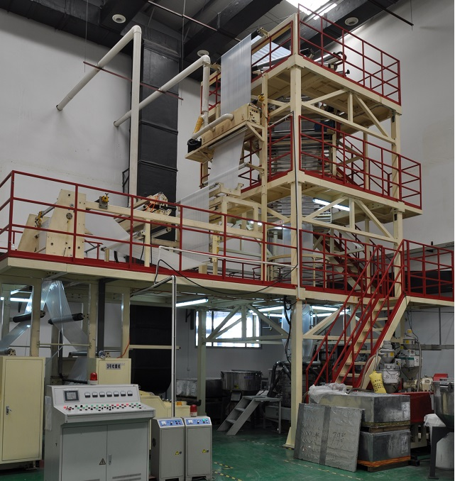 Five Layers Co-extrusion Blower Machine